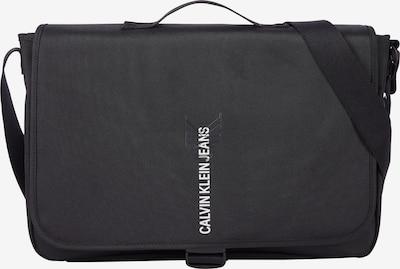 Messenger Calvin Klein Jeans pe negru / alb, Vizualizare produs