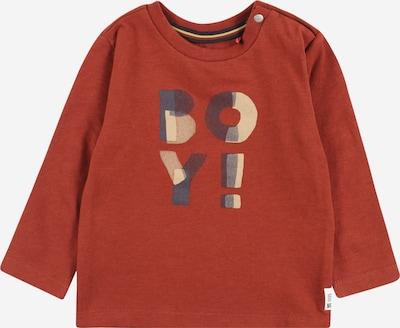 Noppies T-Shirt 'Relizane' en beige clair / bleu marine / rouille / prune, Vue avec produit