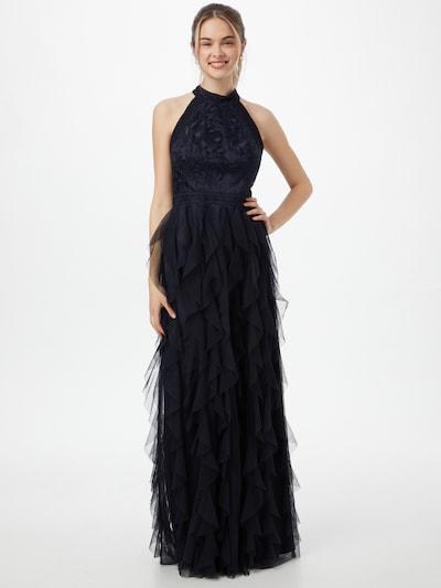 VM Vera Mont Abendkleid in kobaltblau, Modelansicht