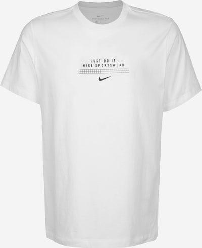 NIKE T-Shirt ' DNA ' in schwarz / weiß, Produktansicht