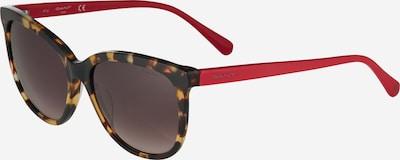 GANT Päikeseprillid pruun / punane / must, Tootevaade