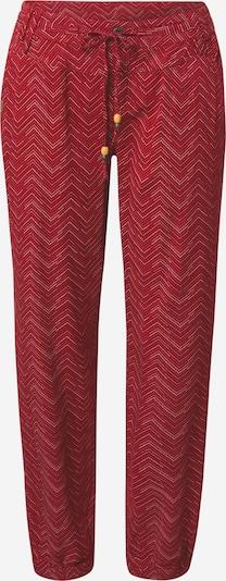 Ragwear Hose 'TALIN' in rot / weiß, Produktansicht