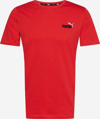 PUMA Sporta krekls spilgti sarkans / melns / balts, Preces skats