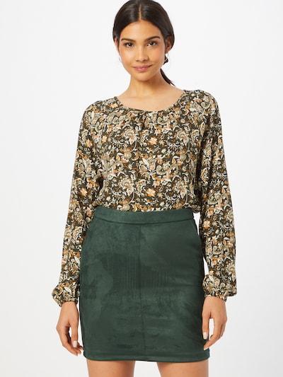 Fransa Bluse 'CAMEO' in grün / orange / weiß, Modelansicht