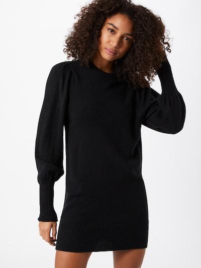 Rochie tricotat Miss Selfridge pe negru, Vizualizare model