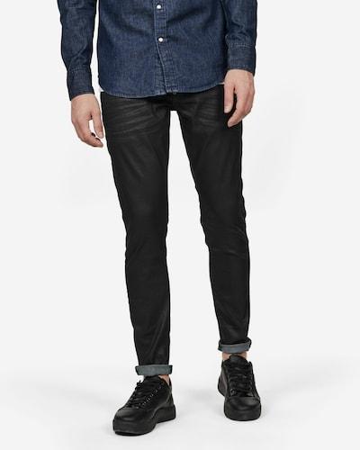G-Star RAW Jeans 'Revend' in black denim, Modelansicht