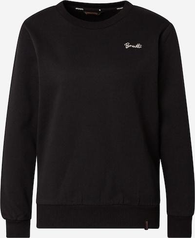 BRUNOTTI Sportsweatshirt 'Farona-N' in schwarz / weiß, Produktansicht