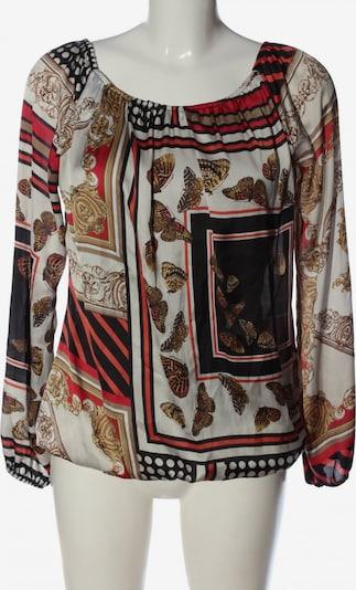 Chilli Carmenshirt in S in braun / rot / weiß, Produktansicht