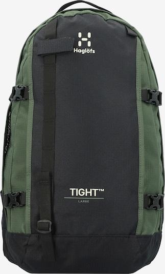 Haglöfs Backpack in Green / Black / White, Item view