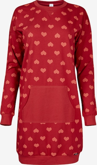 Skiny Spalna srajca 'Valentine Special' | rdeča / svetlo rdeča barva, Prikaz izdelka