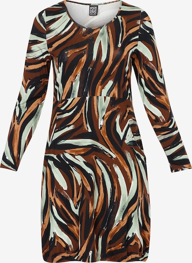 Pont Neuf Dress 'Anja' in Brown / Mixed colors, Item view
