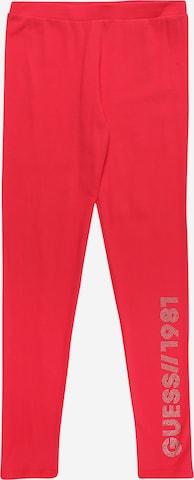 GUESS Leggings i röd