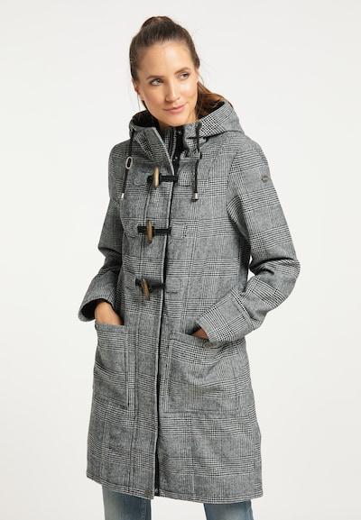 Palton de iarnă DreiMaster Vintage pe gri / negru, Vizualizare model