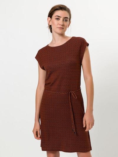 zero Kleid in braun, Modelansicht