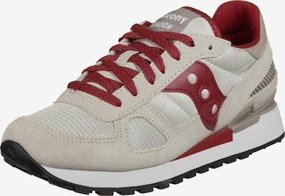 Sneaker low saucony pe gri deschis / roşu închis, Vizualizare produs