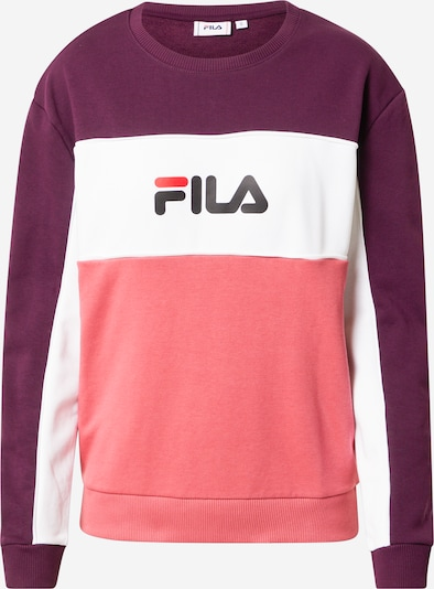 FILA Sweatshirt 'WOMEN AMINA' in lila / pink / weiß, Produktansicht