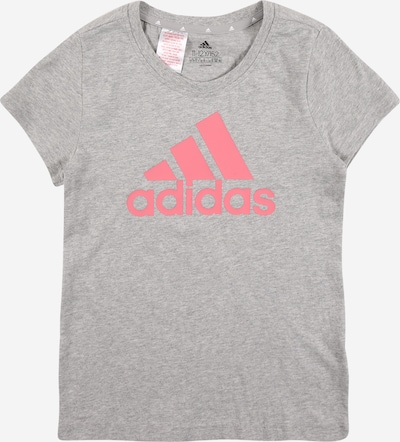ADIDAS PERFORMANCE T-Shirt fonctionnel en gris chiné / rosé, Vue avec produit