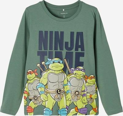 NAME IT T-Shirt 'Teenage Mutant Ninja Turtles' en vert / mélange de couleurs, Vue avec produit