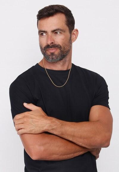 KUZZOI Halskette Basic Kette in gold: Frontalansicht