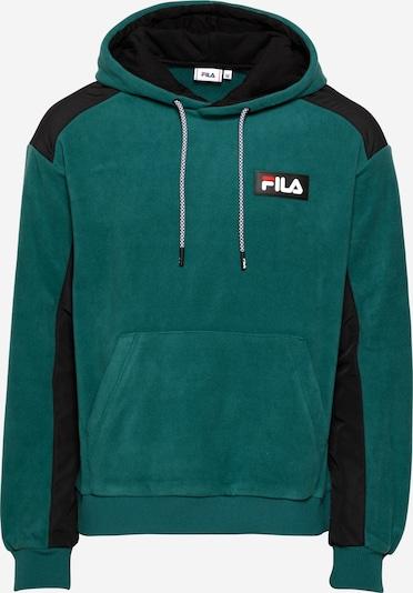 FILA Sweatshirt 'CREVAN' i smaragd / svart, Produktvy