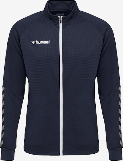 Hummel Sportjas in de kleur Blauw, Productweergave