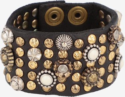 Campomaggi Armband Leder 20 cm in schwarz, Produktansicht