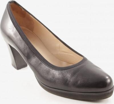 UNBEKANNT High Heels in 40,5 in beige / schwarz, Produktansicht