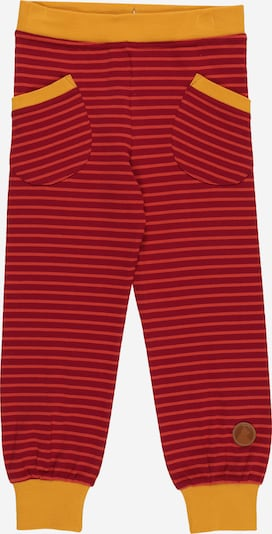 FINKID Pantalon 'TIIKERI' en safran / pitaya / rouge, Vue avec produit