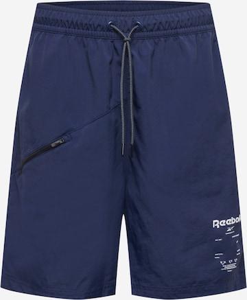 Pantalon de sport 'Road Trip' Reebok Sport en bleu