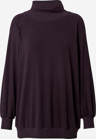 Bluză de molton de la 10Days pe negru