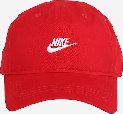 Nike Sportswear Cap in hellrot / weiß, Produktansicht