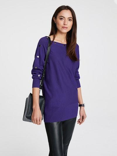 heine Pullover in violettblau, Modelansicht