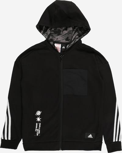 ADIDAS PERFORMANCE Sweat de sport 'ARKD3' en noir / blanc, Vue avec produit