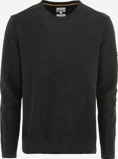 CAMEL ACTIVE Pullover mit Rundhalskragen in schwarz, Produktansicht