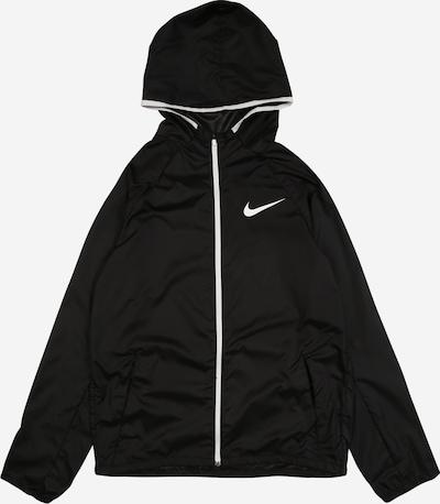 NIKE Sport-Jacke in schwarz / weiß, Produktansicht
