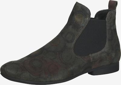 THINK! Chelsea Boots in braun / grau / dunkelgrau, Produktansicht