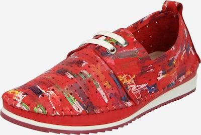COSMOS COMFORT Slipper i blandingsfarvet / rød, Produktvisning