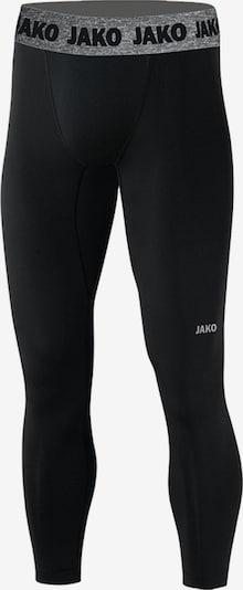 JAKO Sporttight in grau / schwarz: Frontalansicht