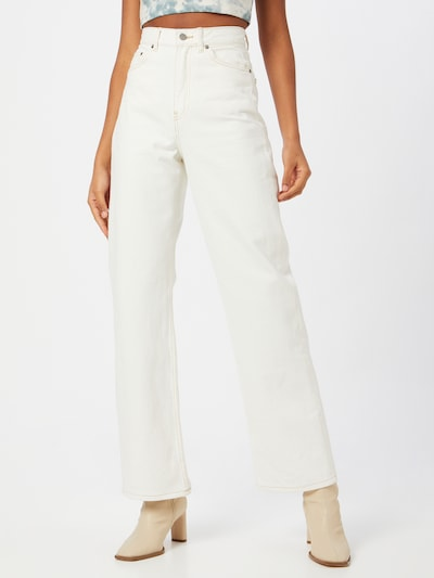 Dr. Denim Jeans 'Echo' i beige: Sedd framifrån