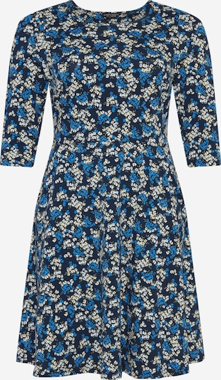 Dorothy Perkins Curve Robe en beige / bleu clair / bleu foncé / vert / blanc, Vue avec produit
