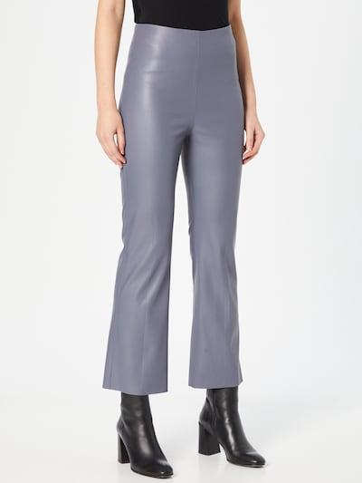 SOAKED IN LUXURY Pantalon 'Kaylee' en gris argenté, Vue avec modèle