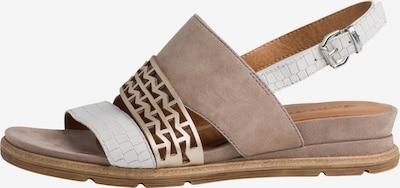 TAMARIS Sandalette in beige, Produktansicht