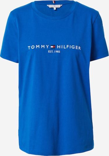 TOMMY HILFIGER T-Shirt - modrá / námornícka modrá / ohnivo červená / biela, Produkt