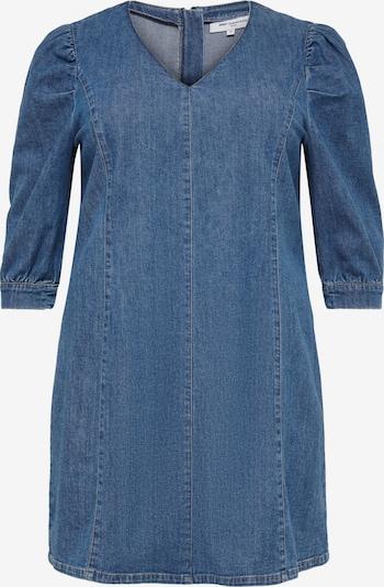 ONLY Carmakoma Robe 'Lursa' en bleu denim, Vue avec produit