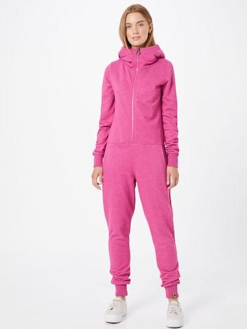 Fli Papigu Jumpsuit 'That Pretty Barmaid' in Roze