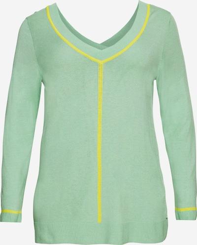 Megztinis iš SHEEGO , spalva - geltona / šviesiai žalia, Prekių apžvalga