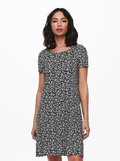 ONLY Vestido de verano 'Bera' en negro / blanco, Vista del modelo