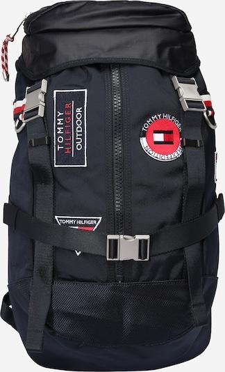 TOMMY HILFIGER Rucksack in nachtblau / rot / weiß, Produktansicht