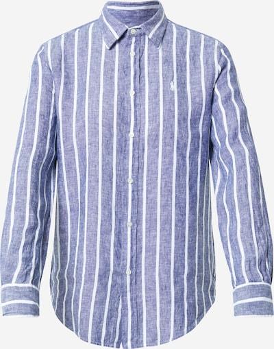 POLO RALPH LAUREN Bluza u plava melange / bijela, Pregled proizvoda