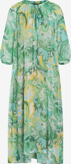 Ana Alcazar Kleid 'Diana' in gelb / jade / weiß, Produktansicht